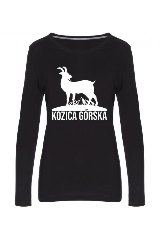 Koszulka Damska Longsleeve Kozica Górska
