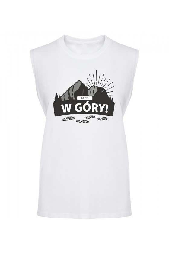 Koszulka Męska Tank Top No To W Góry!