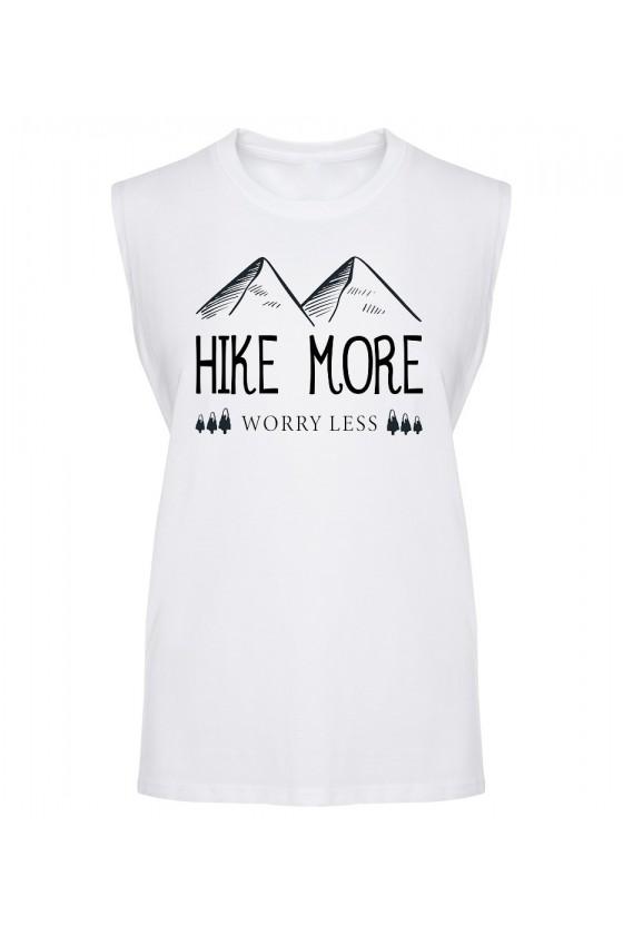 Koszulka Męska Tank Top Hike More, Worry Less