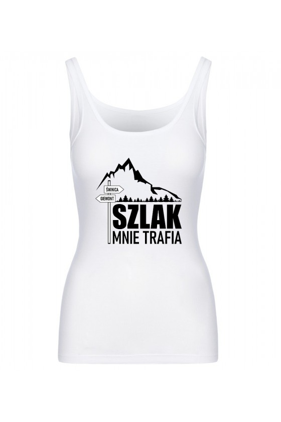 Koszulka Damska Tank Top Szlak Mnie Trafia