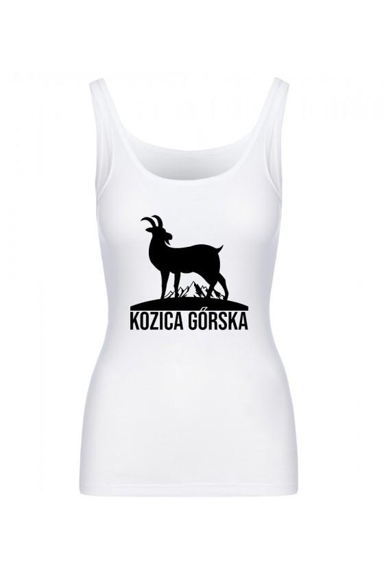 Koszulka Damska Tank Top Kozica Górska