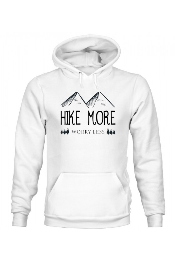 Bluza Męska z Kapturem Hike More, Worry Less