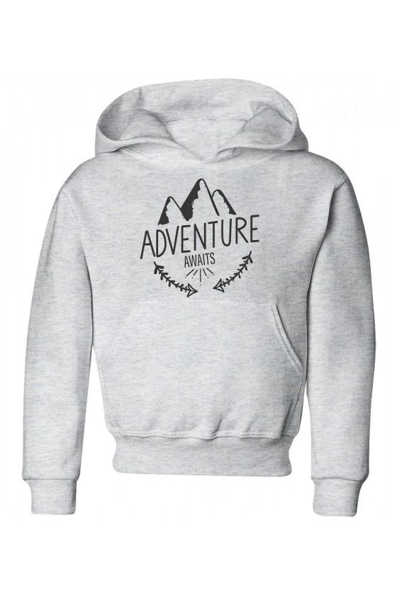 Bluza Dziecięca z Kapturem Adventure Awaits