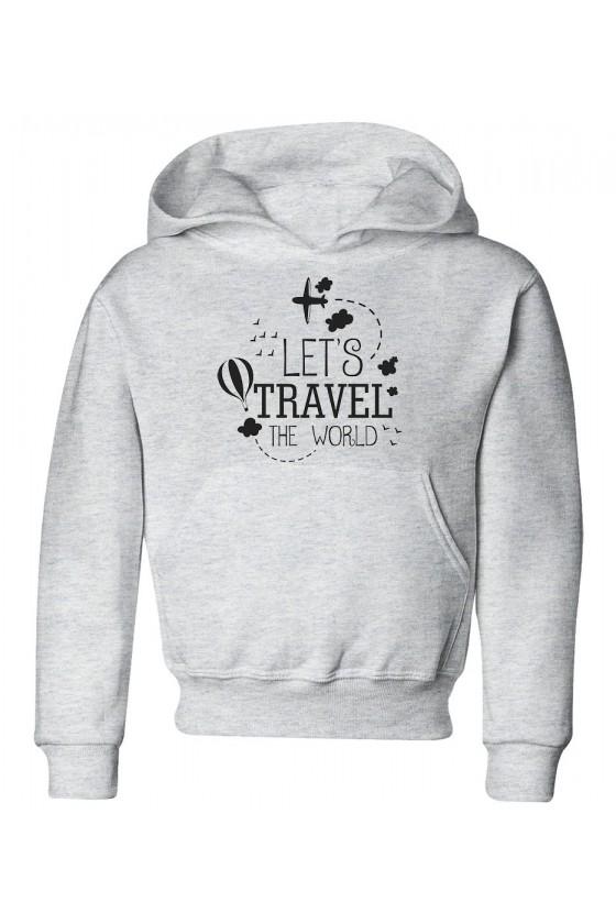 Bluza Dziecięca z Kapturem Let's Travel The World