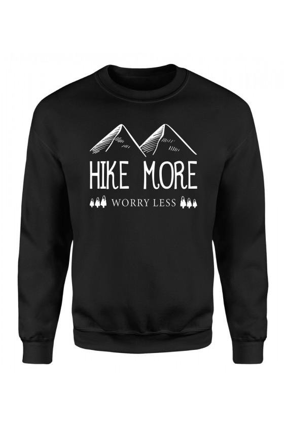 Bluza Męska Klasyczna Hike More, Worry Less