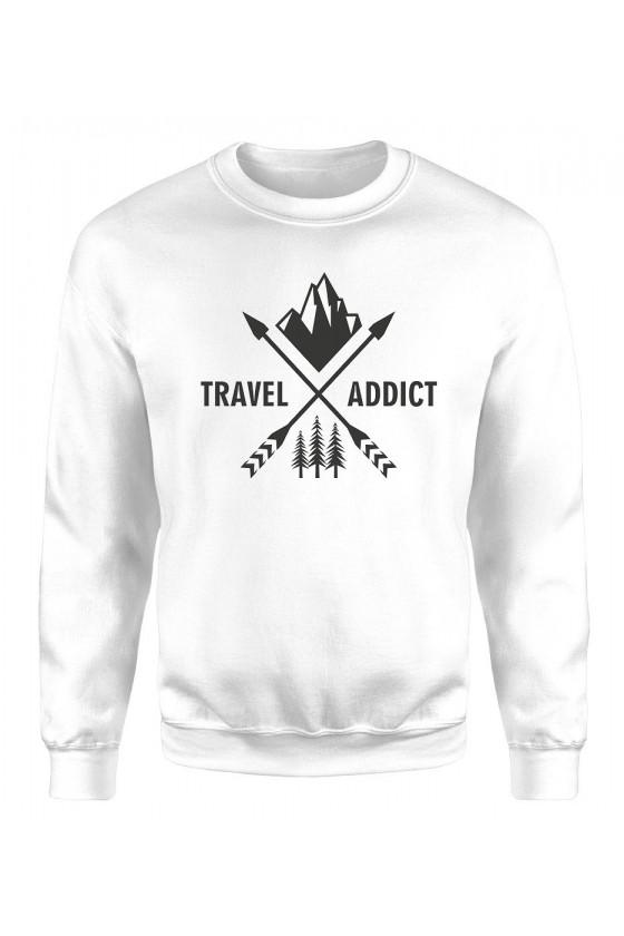 Bluza Męska Klasyczna Travel Addict