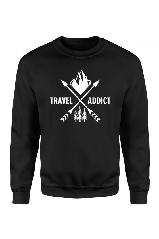 Bluza Damska Klasyczna Travel Addict