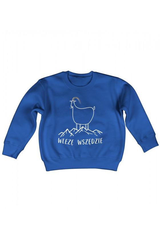 Bluza Dziecięca Klasyczna Wlezę Wszędzie