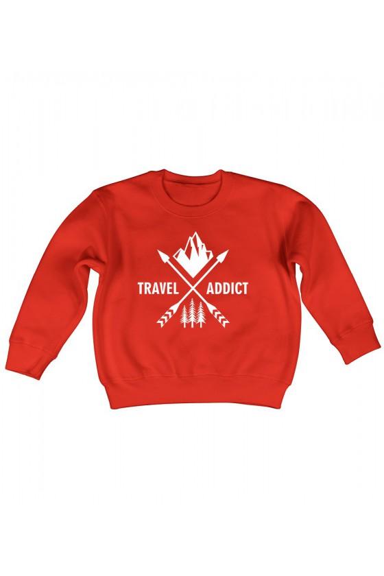Bluza Dziecięca Klasyczna Travel Addict