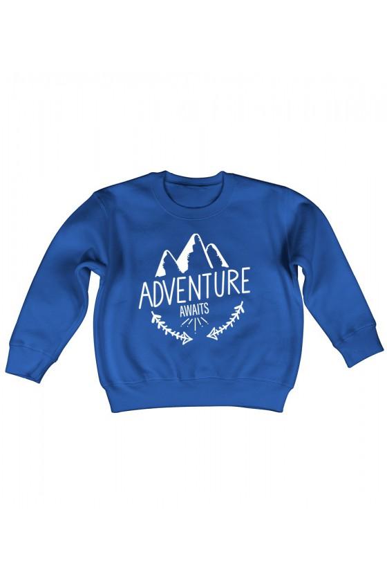 Bluza Dziecięca Klasyczna Adventure Awaits