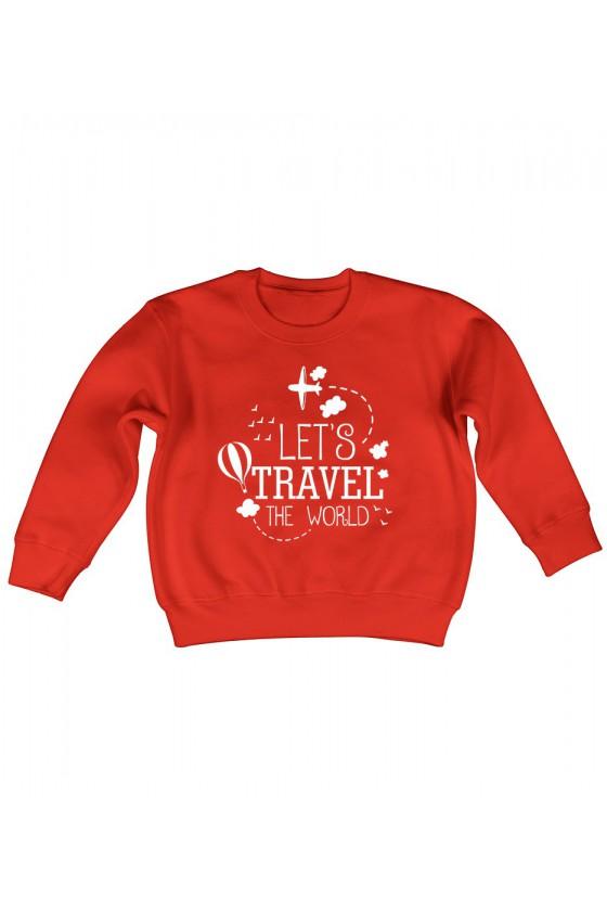 Bluza Dziecięca Klasyczna Let's Travel The World
