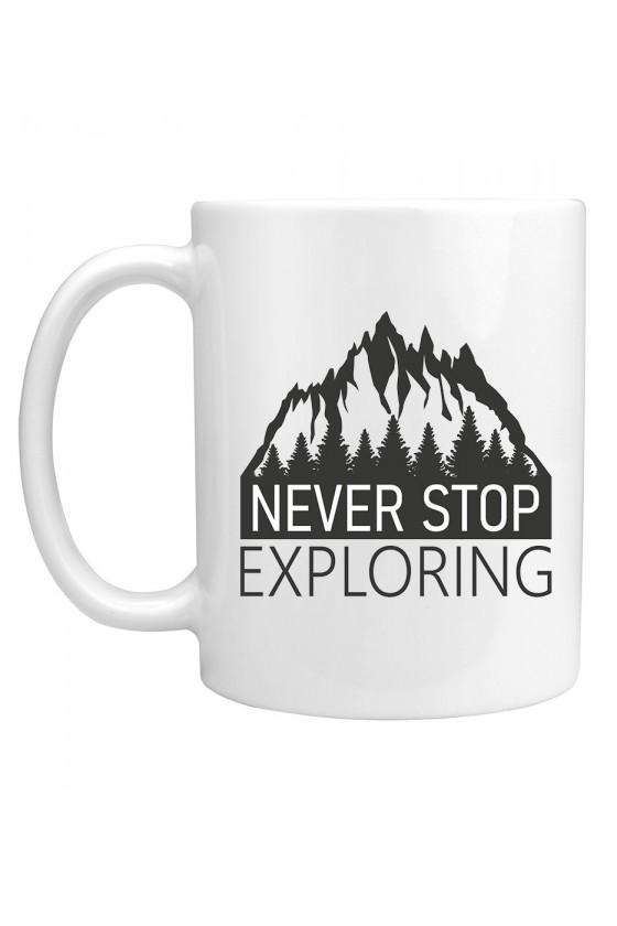 Kubek Never Stop Exploring