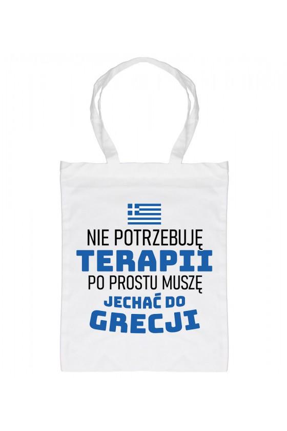 Torba Nie Potrzebuję Terapii, Po Prostu Muszę Jechać Do Grecji