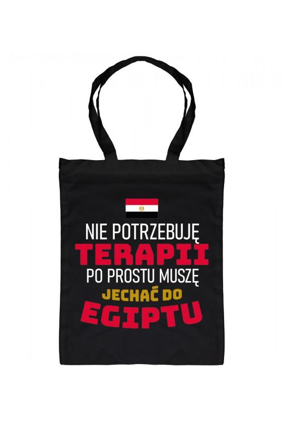 Torba Nie Potrzebuję Terapii, Po Prostu Muszę Jechać Do Egiptu