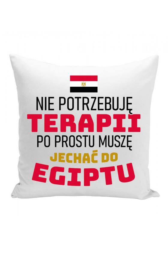 Poduszka Nie Potrzebuję Terapii, Po Prostu Muszę Jechać Do Egiptu