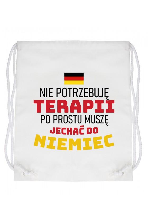 Worek Nie Potrzebuję Terapii, Po Prostu Muszę Jechać Do Niemiec