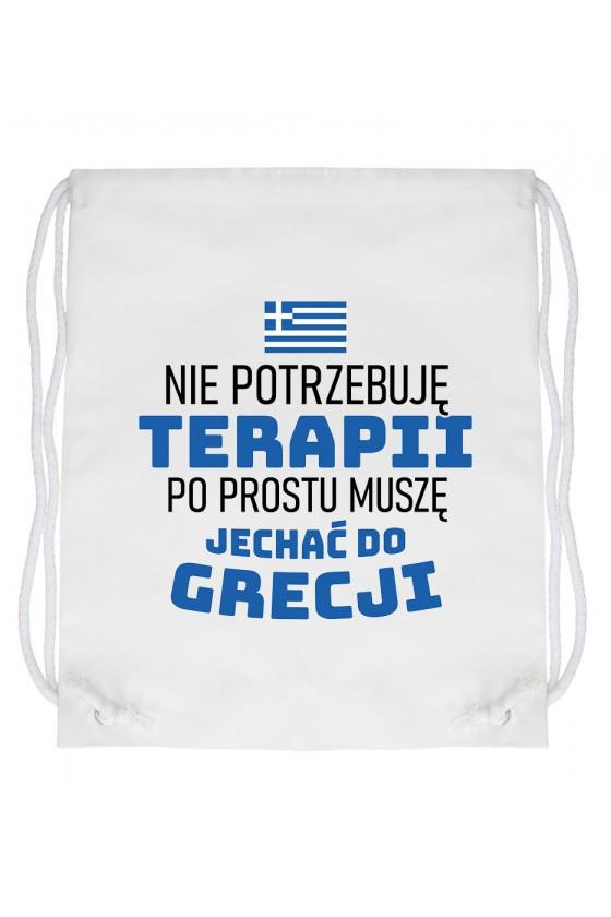 Worek Nie Potrzebuję Terapii, Po Prostu Muszę Jechać Do Grecji