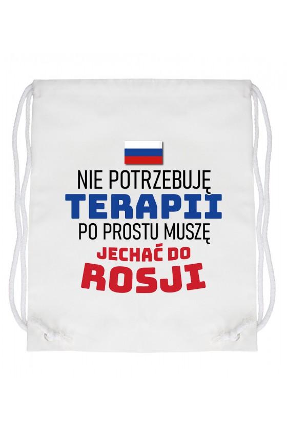 Worek Nie Potrzebuję Terapii, Po Prostu Muszę Jechać Do Rosji