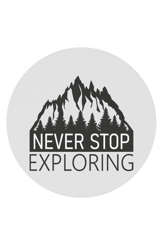 Magnes Koło Never Stop Exploring