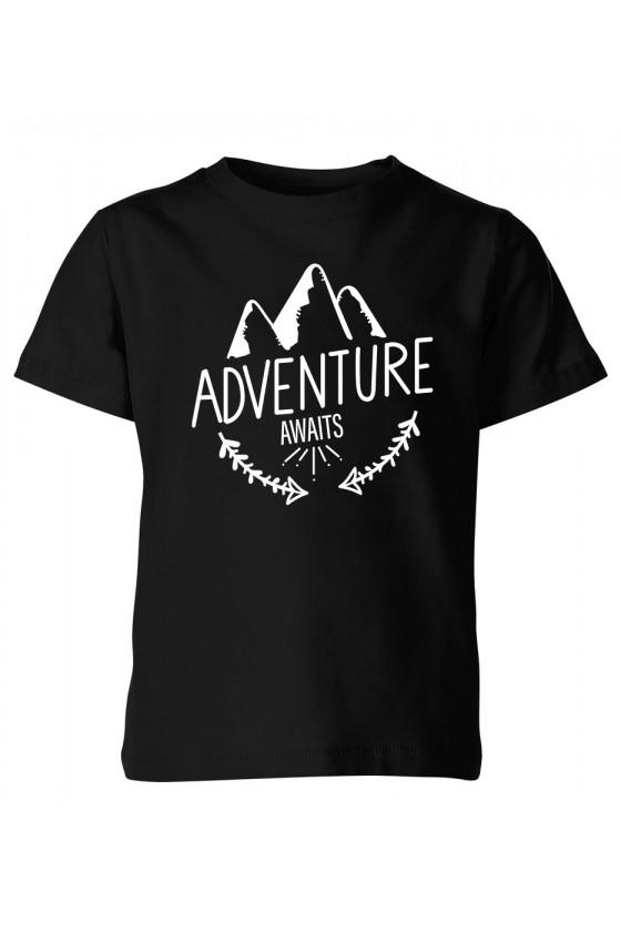 Koszulka Dziecięca Adventure Awaits
