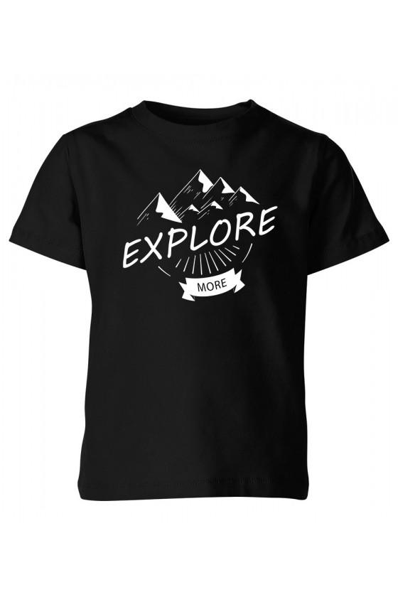 Koszulka Dziecięca Explore More