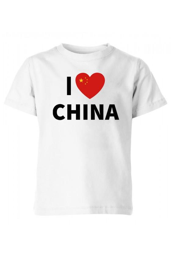 Koszulka Dziecięca I Love China