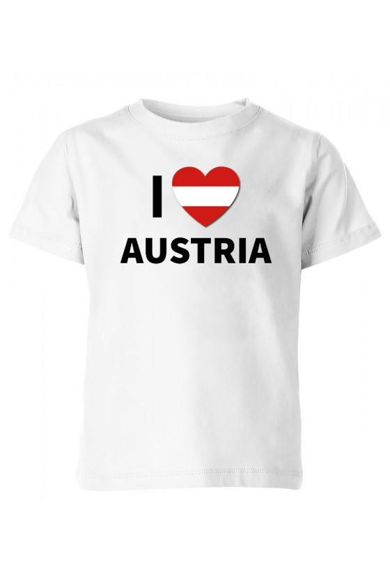 Koszulka Dziecięca I Love Austria